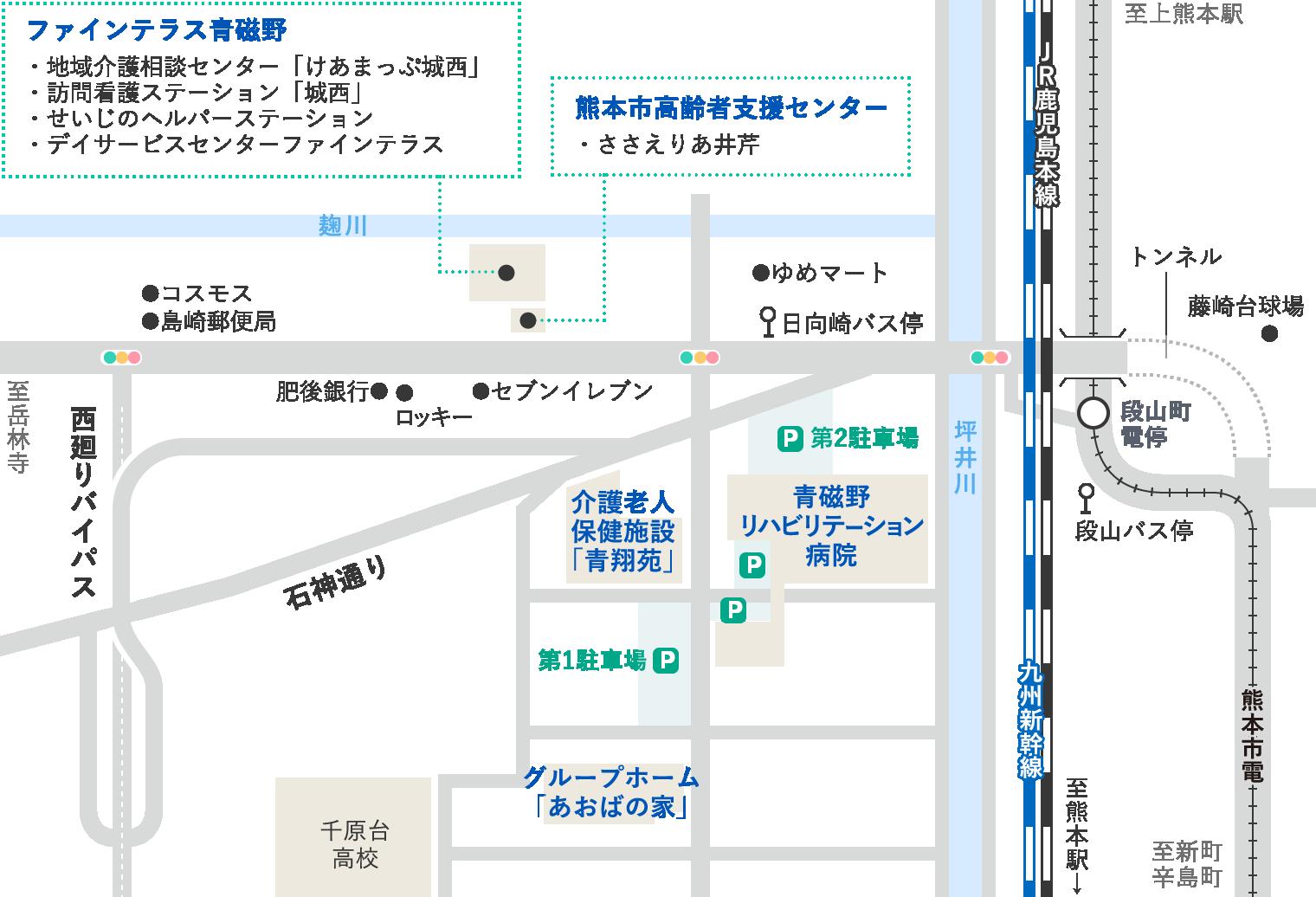 施設周辺概略図
